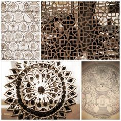 Visiting the Indian handicraft museum in Delhi