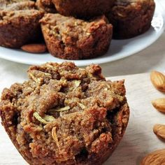 Zucchini Muffins (Gluten Free, Dairy Free, Egg Free, Yeast Free) Recipe