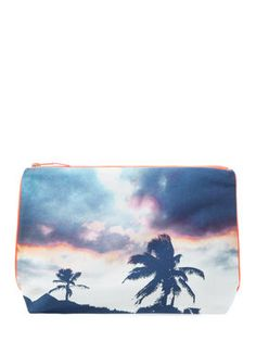 Tulum Flamingo Sky Pouch from dezso by sara belt-ran Blue Purse, Blue  Handbags 68a82791ff