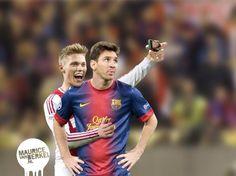 Ajax player wants a photo
