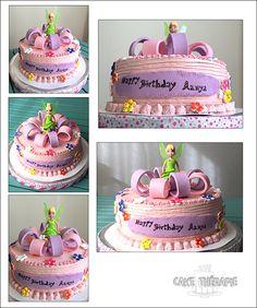 © Mary Das, Cake Thérapie Tinkerbell cake