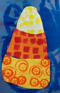Artsonia Art Gallery - Kindergarten Candy Corn Project