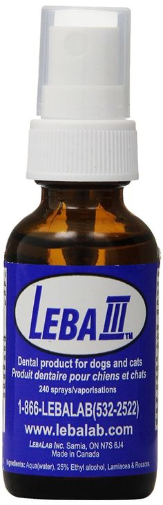 Leba III cat Dental Spray >>> Don't get left behind, see this great  product (This is an amazon affiliate link. I may earn commission from it)