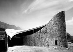 Heilig Geist Church (1967-69) in Lommiswil, Switzerland, by Roland Hanselmann & Heinz Isler
