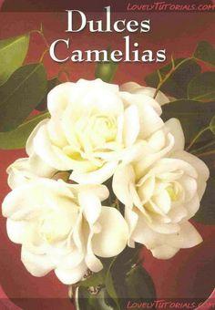 Camellia flower making tutorial
