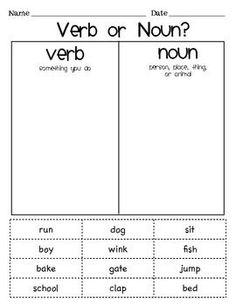 Singular or Plural Noun Sort | Plural nouns, Irregular nouns and ...