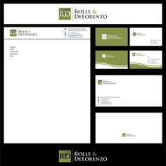 Rolle & DeLorenzo - Rolle & DeLorenzo needs its first classy logo! Law Practice geared towards wealthier divorce clients, individuals with DUI or traffic tickets, and/or individuals wi...