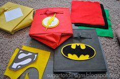 diy super hero playrooms | cajas-super-heroes2_PintandoUnaMama