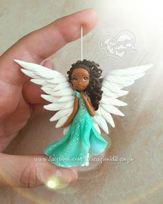 #angel #black #blackangel #wing #wings #angelwings #wingofangel #ali #alidiangelo #angioletto #fimo #clay #polymerclay #necklace #pendant #instalike #instagood #like4like #lecreazionidifranzin