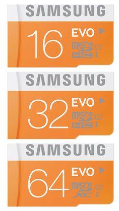 Genuine Samsung Micro SDHC SDXC EVO Class 10 UHS-1 Memory Card 16GB 32GB 64GB #Samsung