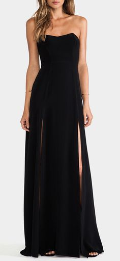 Nookie Encore Maxi Dress in Black. So cute! Especially for the summer <3