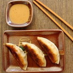 Chicken & Thai Basil Dumplings