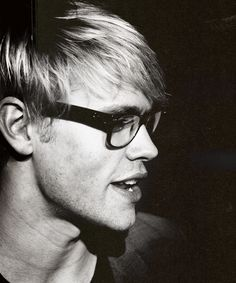 Chord Overstreet. Love the glasses!