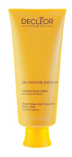 Decléor 200ml gel douche exfoliant Decléor gel douche exfoliant. A shower gel for everyday use. Invigorates and exfoliates whilst cleansing your skin. http://www.comparestoreprices.co.uk/health-and-beauty/declã©or-200ml-gel-douche-exfoliant.asp