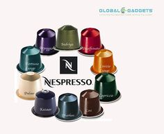 Shop for #Nespresso Coffee Capsules Pods online at Global Gadgets!