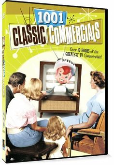 1001 Classic Commercials DVD ~ Various