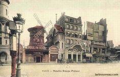 Le Moulin Rouge fut ouvert en 1889 par Charles Zidier et Joseph Oller. Old Paris, Vintage Paris, Le Moulin Rouge Paris, La Belle Epoque Paris, Joseph, Tours France, Russian Ballet, Chronicles Of Narnia, Vampire Academy