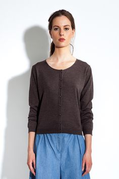 MASKA S/S16 - Camela fine knitted cardigan