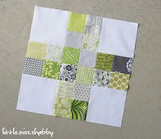 Scrappy Plus Block--Do good Stitches | Corey | Flickr