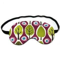 Purple Trees Sleep Eye Mask