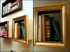 Diy picture frame bookshelf by Nepnep