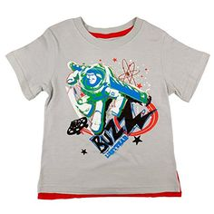 Disney Toddler Boys I Can Fly TShirt SilverRed Cape 4T -- To view further for this item, visit the image link.