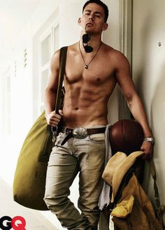 100 Hot Pictures of Birthday Boy Channing Tatum!: Channing Tatum went shirtless in Dear John. : Channing Tatum posed shirtless for GQ's August 2009 issue.