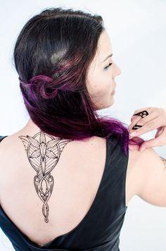 Evenstar Temporary Tattoos by SeventhSkin on Etsy