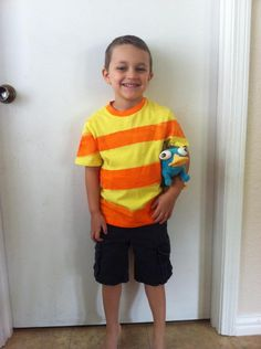 Phineas Costume Turtotial | Nerd Girl Style