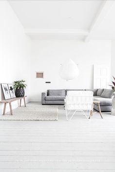 Soft living room palette
