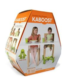 Kaboost Portable Chair Booster, Chocolate - Goes Under the Chair