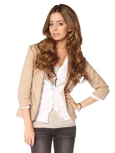 I need to add this blazer-type jacket to my closet.