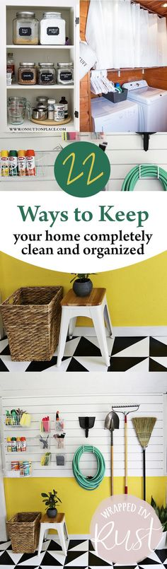 22 Ways to Keep Your Home Completely Clean and Organized – Page 24