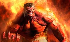 Marvel Red Hulk Premium Format™ Figure