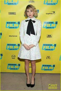 855e327070e7 Actress Zoe Kazan attends the