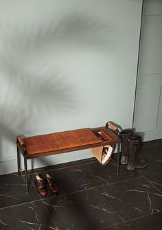 Valet Seated Bench -