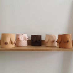 Emma Low had an idea, make clay pots shaped like real women's breasts. It's taken off and she can't believe it. Diy Air Dry Clay, Diy Clay, Clay Crafts, Pottery Teapots, Ceramic Pottery, Pottery Art, Cardboard Art, Ceramic Pots, Victorian Dollhouse