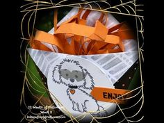 12 Weeks of Halloween 2016 Week 2- Stampin' Up! Bella & Friends Treat Wrap - ink and inspirations