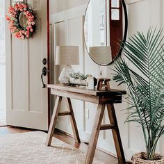 Shabby Chic Bedroom Decor Archives - Antique Farmhouse Shabby Chic Mirror, Rustic Shabby Chic, Farmhouse Style Decorating, Farmhouse Decor, Modern Farmhouse, Rustic Window Frame, Reclaimed Wood Mirror, Cottage Front Doors, Farmhouse Side Table