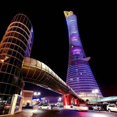 The Torch Tower #Doha #Qatar Repost From @thetorchdoha Like  Comment  Tag  TAG YOUR Awesome Photos  #Qatarism