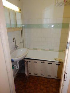 Panellakás felújítás - 53 nm-es panel felújítás előtt és után! - Lakások - Otthon Alcove, Bathtub, Bathroom, Standing Bath, Washroom, Bathtubs, Bath Tube, Full Bath, Bath