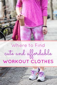 e8a46bbe2 Workout clothes are probably one of main necessities of a college students'  wardrobe. Whether