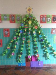 Onderwijs en zo voort ........: 3163. December ! : Klassenkerstboom