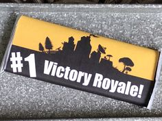 FORTNITE birthday, Hershey Bar wrapper, Victory Royale,fortnite party, printable,favors by HattersandHares on Etsy https://www.etsy.com/listing/585048198/fortnite-birthday-hershey-bar-wrapper