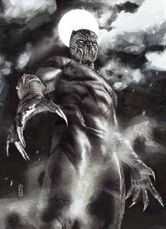 Black Panther by Marco Turini *
