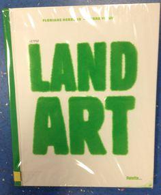 Land Art.
