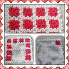 Wiggly Crochet Patterns, Basic Crochet Stitches, Crochet Mat, Manta Crochet, Crochet Kitchen, Craft Bags, Crochet For Beginners, Crochet Designs, Home Textile