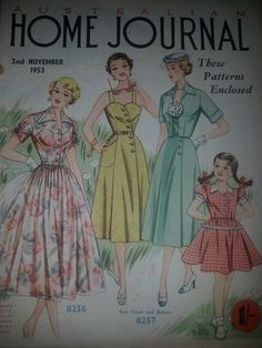 Australian home journal November 1953 cover