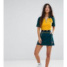 d5e4d75a680c7 Fila Petite A Line Mini Skirt With Logo Waistband ($53) ❤ liked on Polyvore