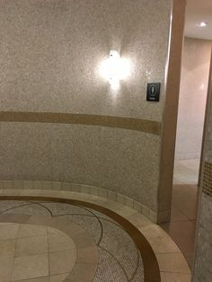 PHOTO 6: The use of various types and textures of stones (and other materials) used in this corridor outside the Chadstone mall lavatories creates a unique pattern and beautifully designed space in an what would normally be a neglected, understated area.